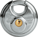DISKUS PADLOCK 2-3/8IN WIDE CARDED