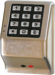 Trilogy T3 Keypad Standalone Access Wall Mount, Weather Proof, 2000 Users, 40,000 Event Audit Trial, 500 Scheduled Events, Satin Chrome (26D)