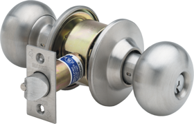 MARKS 180RAB//32D CYLINDRICAL LOCKSET STAINLESS ENTRANCE DOOR LOCK SET GRADE 1