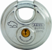 BUFFO DISKUS PADLOCK 2-3/4IN WIDE CARDED