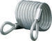 CARDED CABLE 6FT X 1/4IN LOOPED END