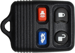 FORD 4 BUTTON REMOTE KEYLESS ENTRY