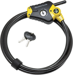 CARDED PYTHON ADJ LOCK CABLE 6FT X 3/8IN
