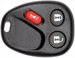 REMOTE SHELL GM 3 BUTTON U,L,P