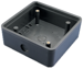 PUSH PLATE SURFACE MNT BOX 4.5IN SQUARE