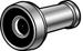DOOR VIEWER- 190 DEG. 1/2in CHROME
