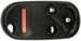 REMOTE SHELL HONDA 4 BUTTON U,L,P,T