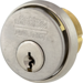 MORTISE CYLINDER 1-1/8IN CLOVER CAM