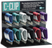 C-CLIP DISPLAY ALUMINUM ASSORTED 126PCS