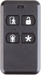4-Button Key Ring Remote