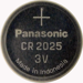 CR2025 3V 150 MAH LITHIUM COIN CELL