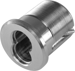 BEST SFIC MORTISE HOUSING AR CAM SILVER