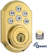 Z-WAVE SINGLE CYLINDER DEADBOLT G2 SMT