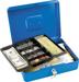 LOCKING CASH BOX 6 COMPARTMENT