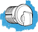 T-TURN MORTISE CYLINDER