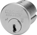MORTISE CYLINDER 1IN M3 LESS SLIDER