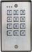 Surface-Mount, Stand-Alone Vandal Resistant Flush-Mount Outdoor Keypad 1100 Users, 12-24V AC\DC, 2 Relay Output