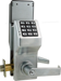 Networx Keypad Cylindrical Lock, Schlage C Keyway, 5000 Users, 35,000 Audit Trail, Supports 802.11 or Ethernet, No Hardwiring, Satin Chrome (26D)