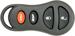 Chrysler 4 Button Remote Keyless Entry