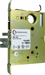 24V Electrified ML1 Entry with Deadbolt Mortise Chasis Only, (EU) Fail Secure (FSE), Compatible with Schlage L Series