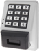 Trilogy T3 Prox Reader & Keypad Standalone Access Wall Mount, Weather Proof, 2000 Users, 40,000 Event Audit Trial, 500 Scheduled Events, Aluminum Finish (MS)