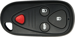 Acura 4 Button Remote Keyless Entry