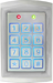 Sealed, Stand-Alone Vandal Resistant Flush-Mount Outdoor Keypad, 1100 Users, 12-24V AC\DC, 2 Relay Output