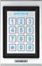 Single-gang Keypad with Prox Reader, Backlit, Bluetooth, 9-25VDC